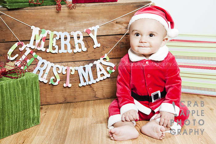 Family Photos Outdoor Christmas Baby Portraits Crabapple Photography