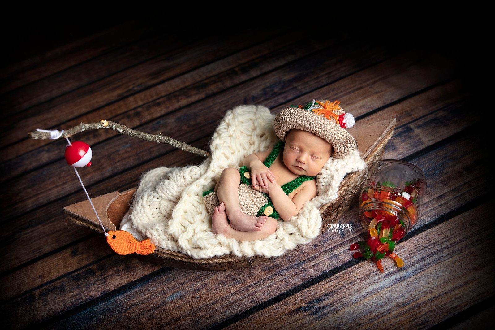 Fisherman Newborn Photos