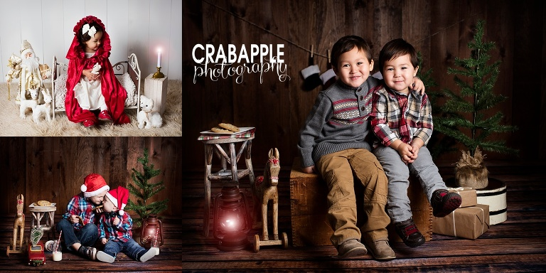 christmas card portraits sessions