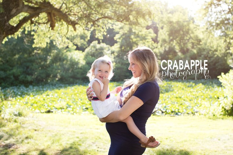 maternity photography with toddler wilmington mama to be k
