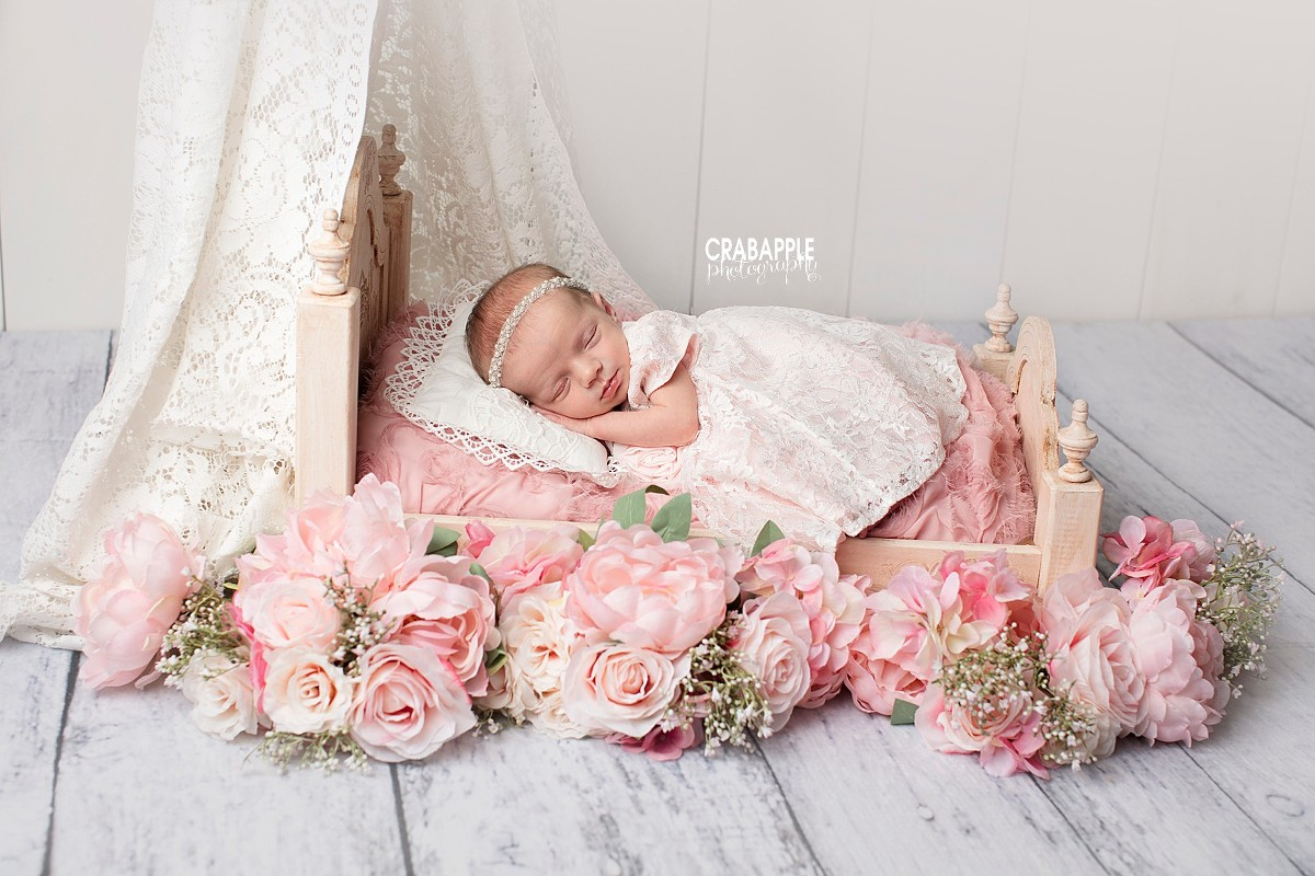 Disney Princess Newborn Photos