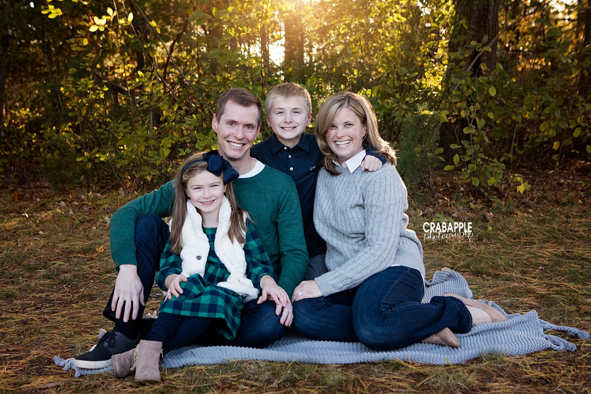 What To Wear For Your Fall Family Photos · Crabapple Photography